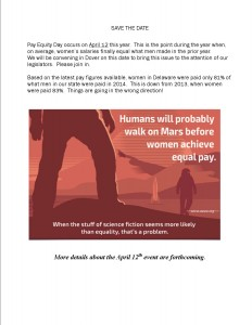 Equal Pay 2016